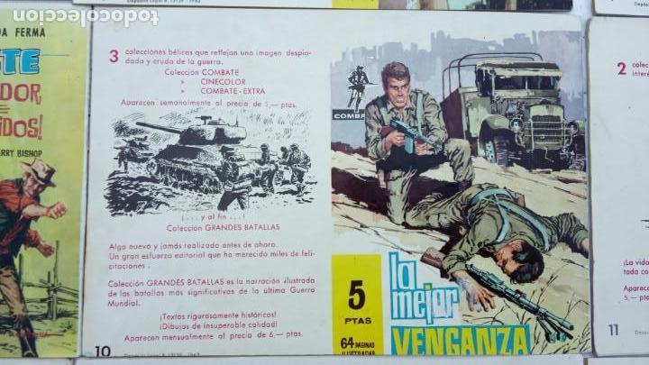 Tebeos: COMBATE ORIGINAL COMPLETA 1 AL 12 - EDITORIAL FERMA 1963 MUY BUEN ESTADO, DIFÍCIL - Foto 17 - 142379502