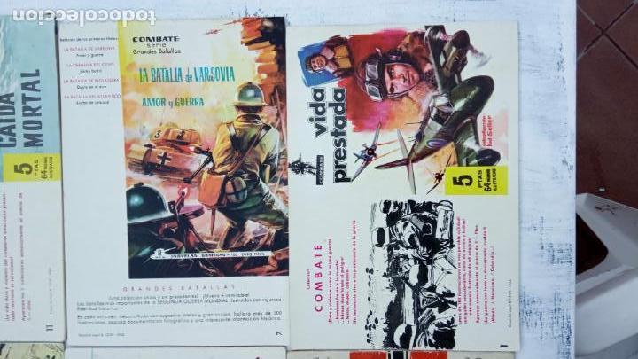 Tebeos: COMBATE ORIGINAL COMPLETA 1 AL 12 - EDITORIAL FERMA 1963 MUY BUEN ESTADO, DIFÍCIL - Foto 25 - 142379502
