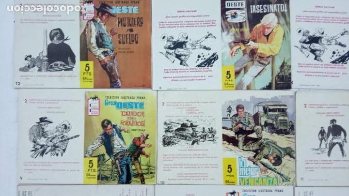 Tebeos: COMBATE ORIGINAL COMPLETA 1 AL 12 - EDITORIAL FERMA 1963 MUY BUEN ESTADO, DIFÍCIL - Foto 26 - 142379502