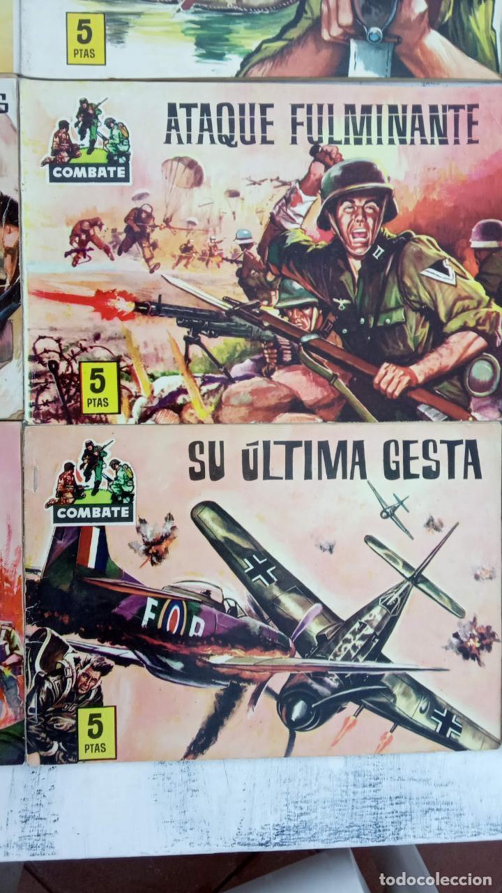 Tebeos: COMBATE ORIGINAL COMPLETA 1 AL 12 - EDITORIAL FERMA 1963 MUY BUEN ESTADO, DIFÍCIL - Foto 4 - 142379502