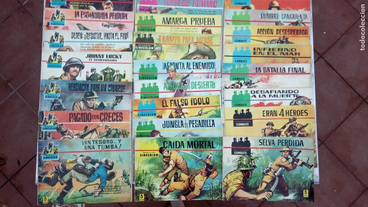 Tebeos: COLECCION CINECOLOR COMBATE COMPLETA - MUY BUEN ESTADO, ver todas las portadas - Foto 2 - 142392302
