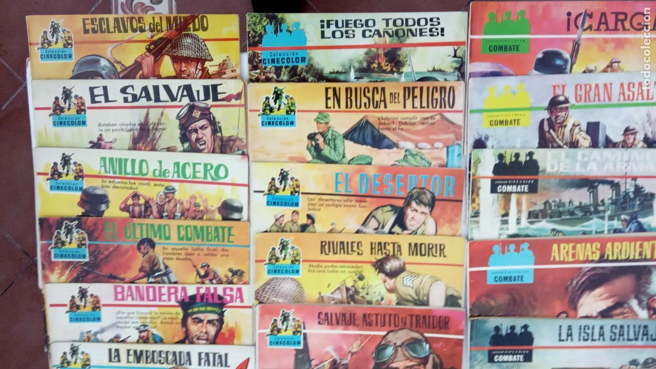 Tebeos: COLECCION CINECOLOR COMBATE COMPLETA - MUY BUEN ESTADO, ver todas las portadas - Foto 3 - 142392302