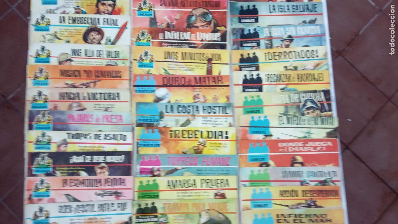 Tebeos: COLECCION CINECOLOR COMBATE COMPLETA - MUY BUEN ESTADO, ver todas las portadas - Foto 4 - 142392302