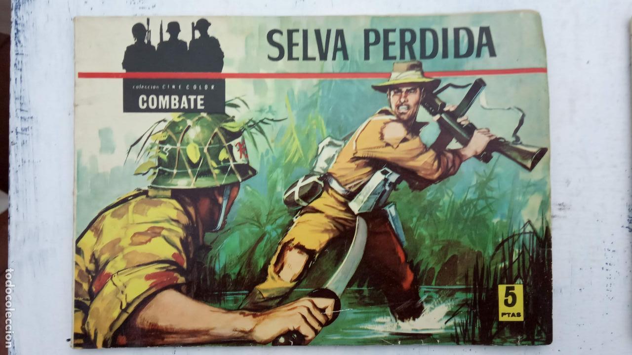 Tebeos: COLECCION CINECOLOR COMBATE COMPLETA - MUY BUEN ESTADO, ver todas las portadas - Foto 5 - 142392302