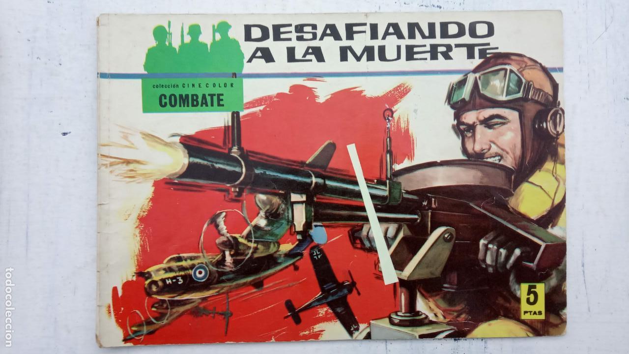 Tebeos: COLECCION CINECOLOR COMBATE COMPLETA - MUY BUEN ESTADO, ver todas las portadas - Foto 7 - 142392302