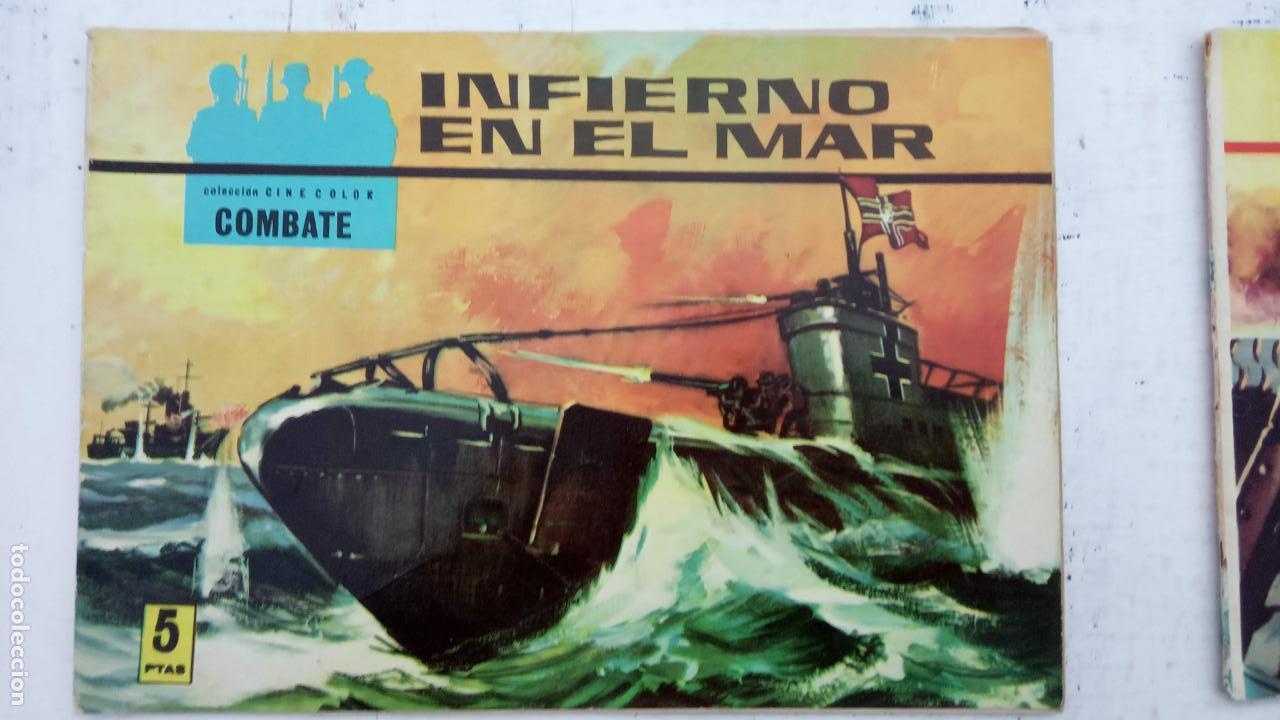 Tebeos: COLECCION CINECOLOR COMBATE COMPLETA - MUY BUEN ESTADO, ver todas las portadas - Foto 9 - 142392302
