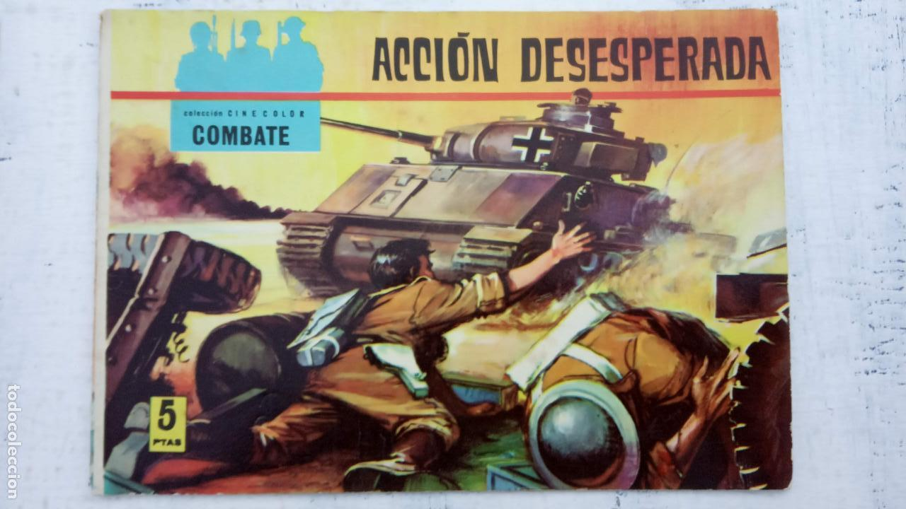 Tebeos: COLECCION CINECOLOR COMBATE COMPLETA - MUY BUEN ESTADO, ver todas las portadas - Foto 10 - 142392302