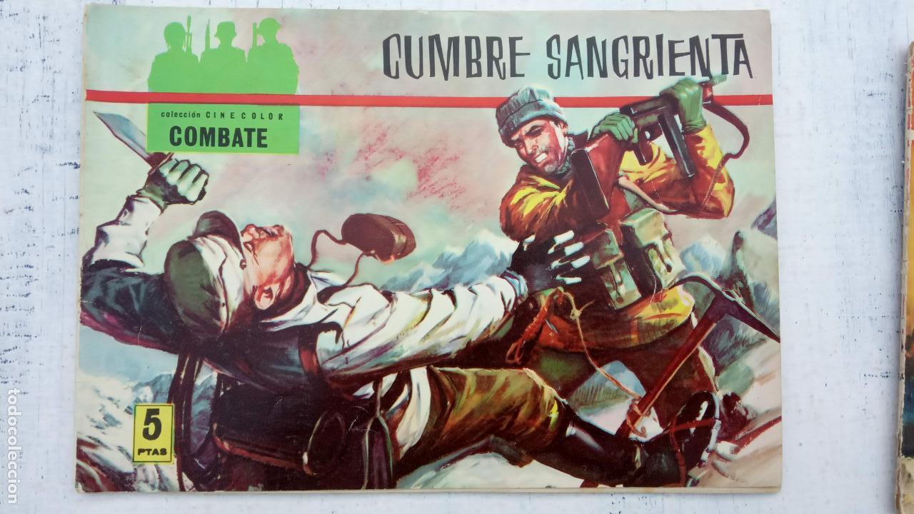 Tebeos: COLECCION CINECOLOR COMBATE COMPLETA - MUY BUEN ESTADO, ver todas las portadas - Foto 11 - 142392302