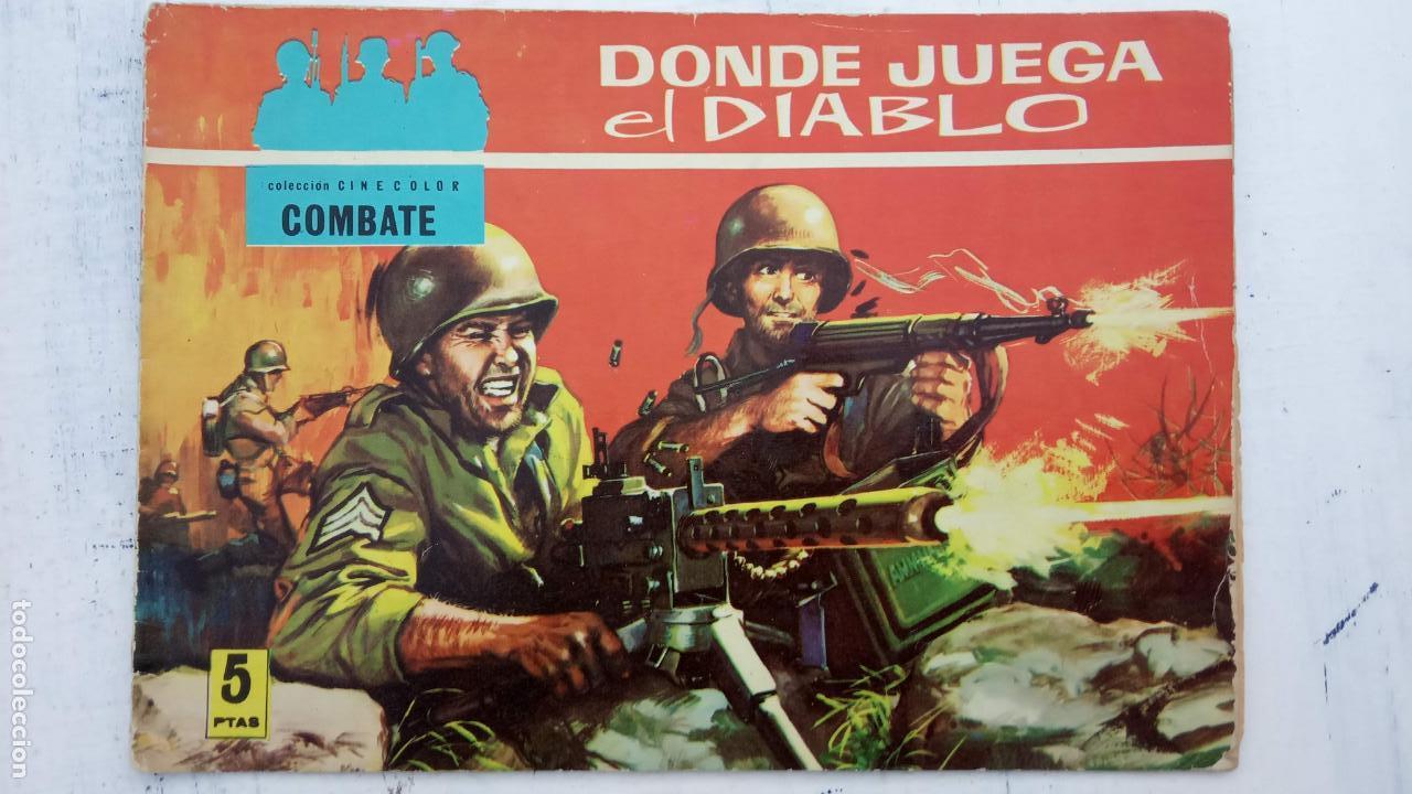 Tebeos: COLECCION CINECOLOR COMBATE COMPLETA - MUY BUEN ESTADO, ver todas las portadas - Foto 12 - 142392302