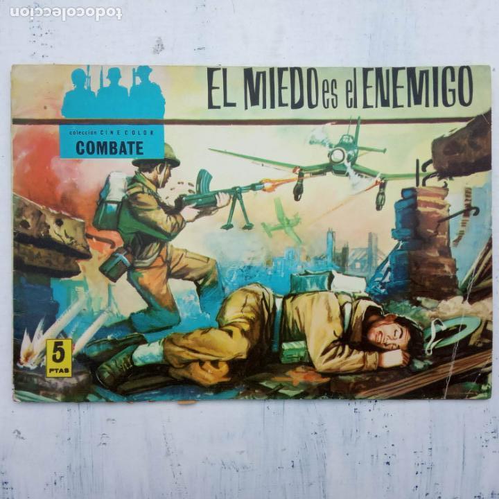 Tebeos: COLECCION CINECOLOR COMBATE COMPLETA - MUY BUEN ESTADO, ver todas las portadas - Foto 13 - 142392302