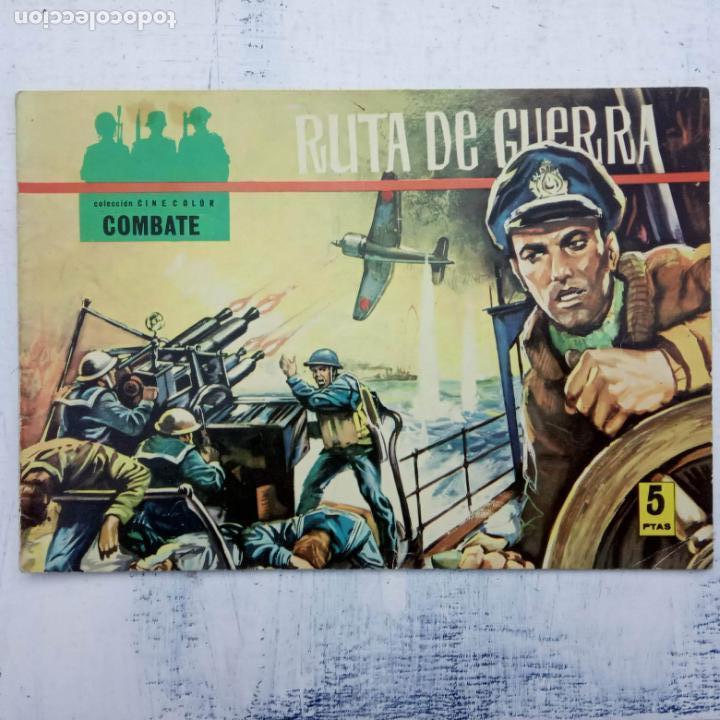 Tebeos: COLECCION CINECOLOR COMBATE COMPLETA - MUY BUEN ESTADO, ver todas las portadas - Foto 14 - 142392302
