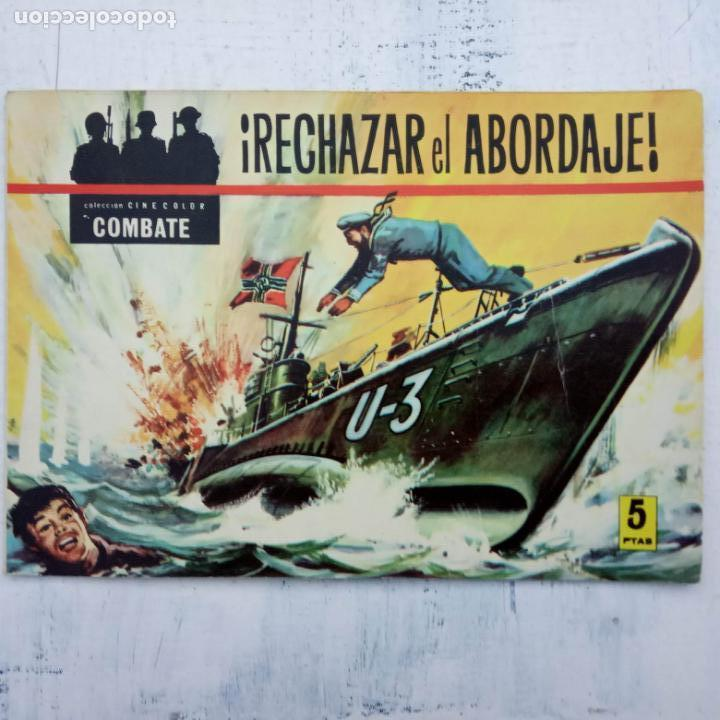 Tebeos: COLECCION CINECOLOR COMBATE COMPLETA - MUY BUEN ESTADO, ver todas las portadas - Foto 15 - 142392302