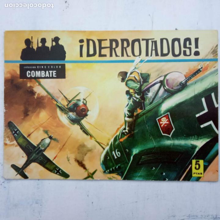 Tebeos: COLECCION CINECOLOR COMBATE COMPLETA - MUY BUEN ESTADO, ver todas las portadas - Foto 16 - 142392302