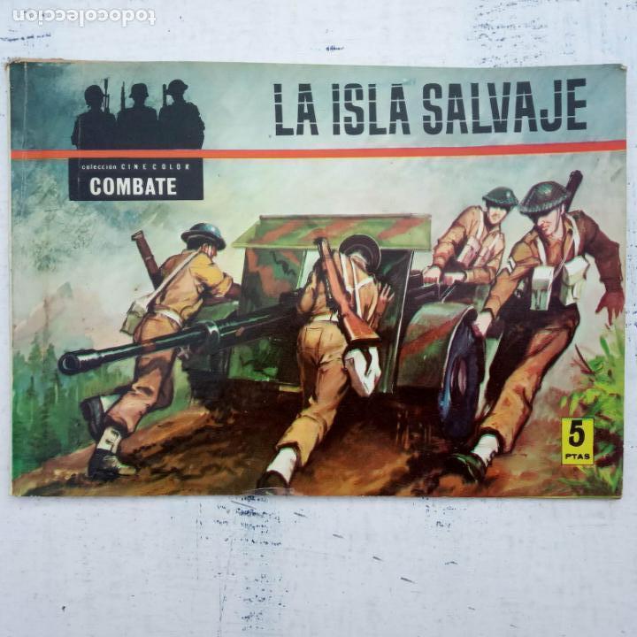 Tebeos: COLECCION CINECOLOR COMBATE COMPLETA - MUY BUEN ESTADO, ver todas las portadas - Foto 18 - 142392302