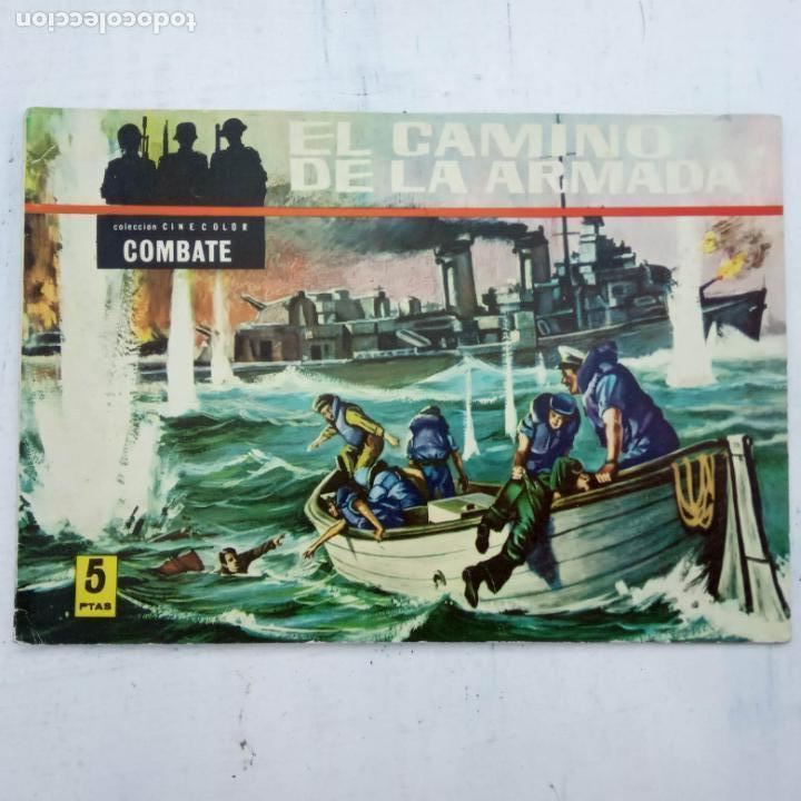 Tebeos: COLECCION CINECOLOR COMBATE COMPLETA - MUY BUEN ESTADO, ver todas las portadas - Foto 20 - 142392302