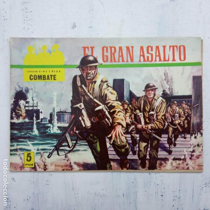 Tebeos: COLECCION CINECOLOR COMBATE COMPLETA - MUY BUEN ESTADO, ver todas las portadas - Foto 21 - 142392302