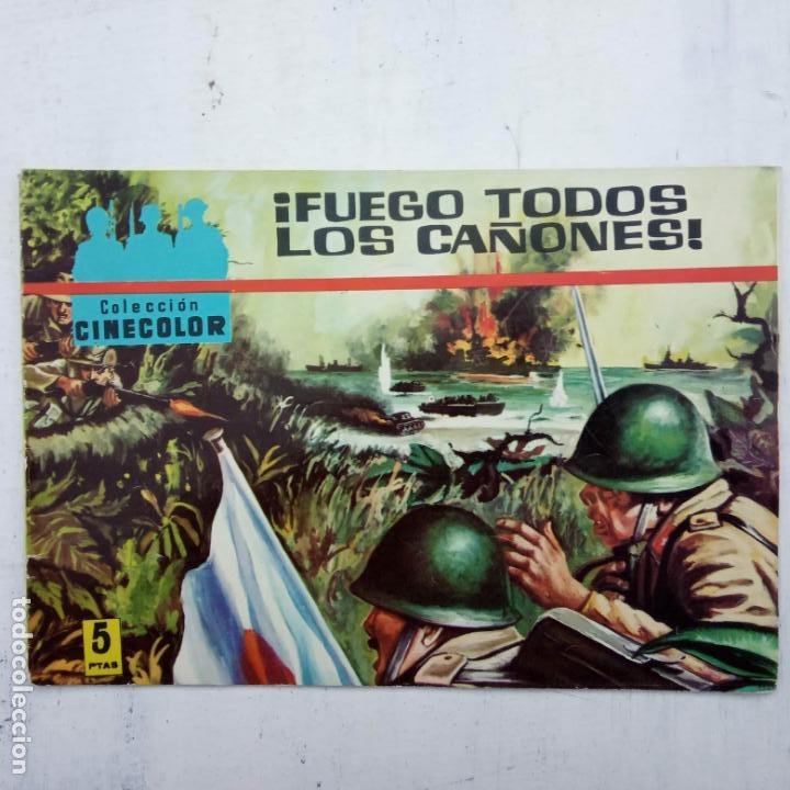 Tebeos: COLECCION CINECOLOR COMBATE COMPLETA - MUY BUEN ESTADO, ver todas las portadas - Foto 23 - 142392302
