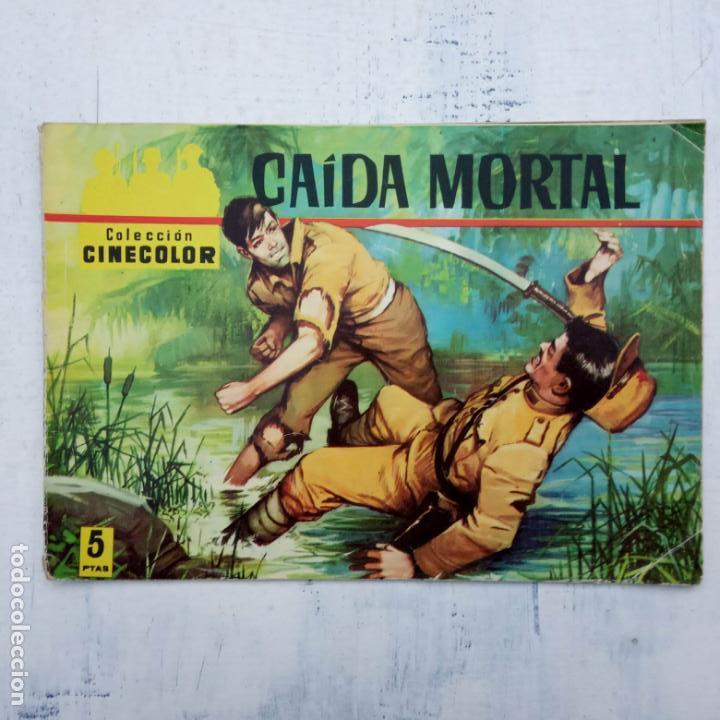 Tebeos: COLECCION CINECOLOR COMBATE COMPLETA - MUY BUEN ESTADO, ver todas las portadas - Foto 24 - 142392302