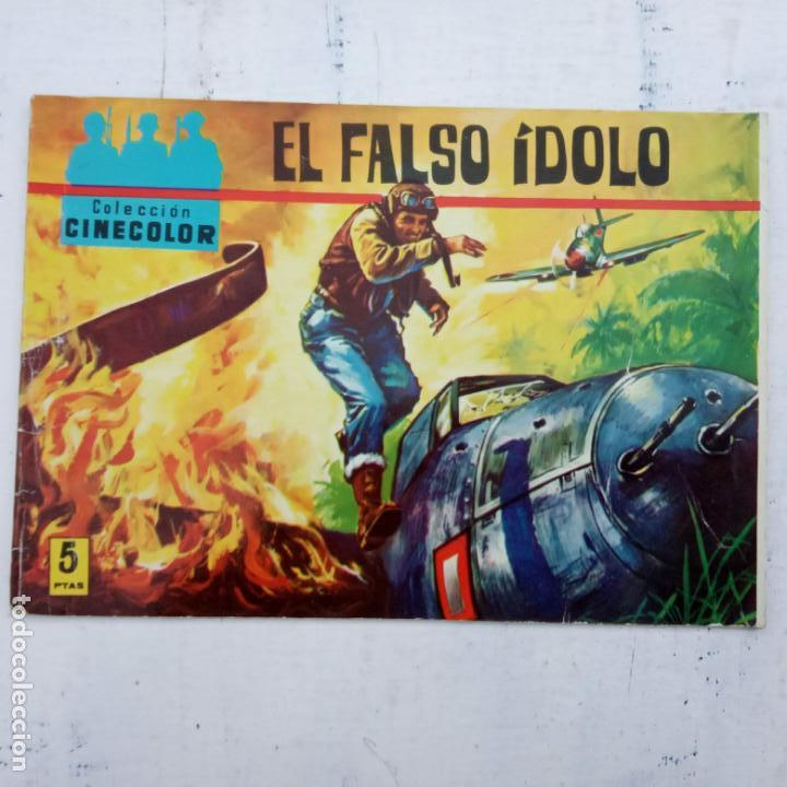 Tebeos: COLECCION CINECOLOR COMBATE COMPLETA - MUY BUEN ESTADO, ver todas las portadas - Foto 26 - 142392302