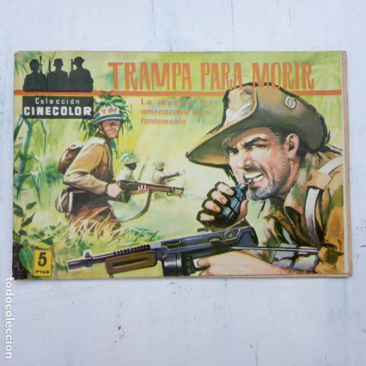 Tebeos: COLECCION CINECOLOR COMBATE COMPLETA - MUY BUEN ESTADO, ver todas las portadas - Foto 29 - 142392302