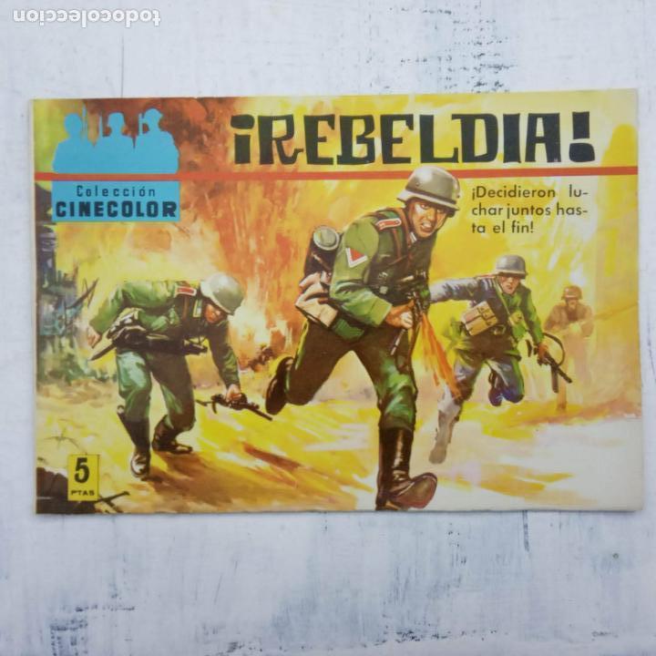 Tebeos: COLECCION CINECOLOR COMBATE COMPLETA - MUY BUEN ESTADO, ver todas las portadas - Foto 32 - 142392302