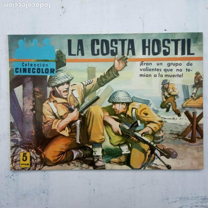 Tebeos: COLECCION CINECOLOR COMBATE COMPLETA - MUY BUEN ESTADO, ver todas las portadas - Foto 33 - 142392302