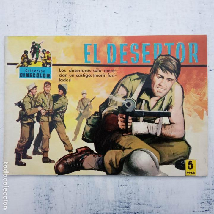Tebeos: COLECCION CINECOLOR COMBATE COMPLETA - MUY BUEN ESTADO, ver todas las portadas - Foto 39 - 142392302