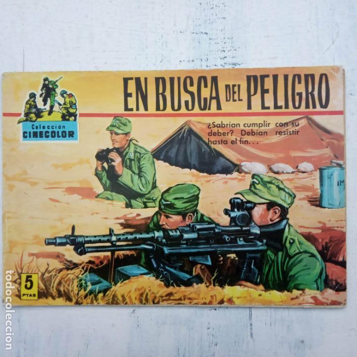 Tebeos: COLECCION CINECOLOR COMBATE COMPLETA - MUY BUEN ESTADO, ver todas las portadas - Foto 40 - 142392302