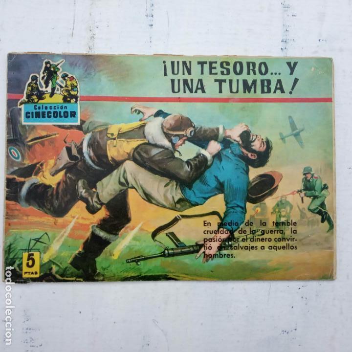Tebeos: COLECCION CINECOLOR COMBATE COMPLETA - MUY BUEN ESTADO, ver todas las portadas - Foto 41 - 142392302
