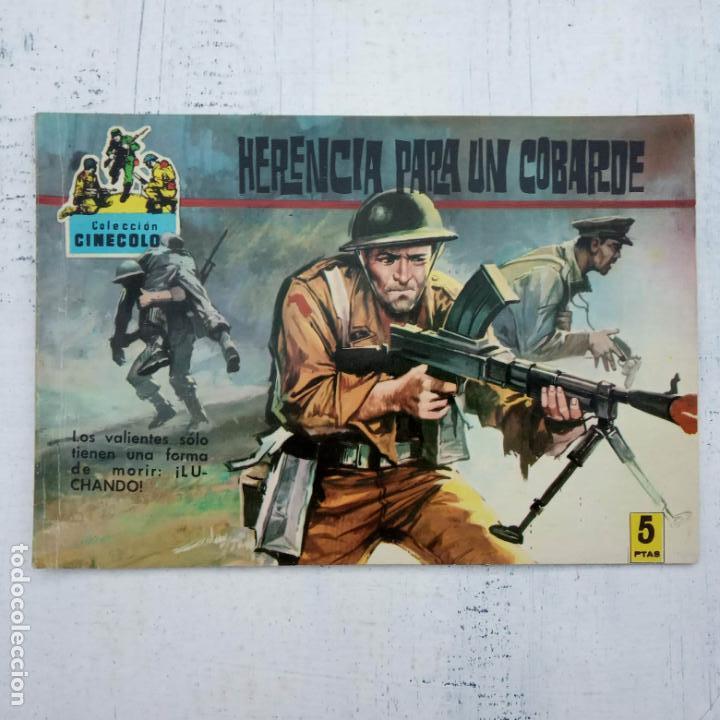 Tebeos: COLECCION CINECOLOR COMBATE COMPLETA - MUY BUEN ESTADO, ver todas las portadas - Foto 44 - 142392302