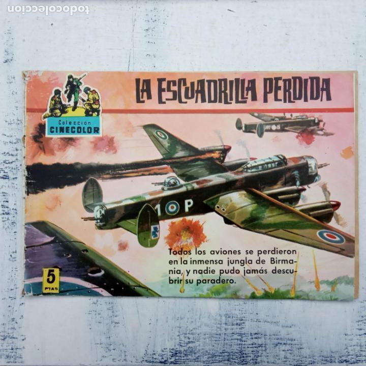 Tebeos: COLECCION CINECOLOR COMBATE COMPLETA - MUY BUEN ESTADO, ver todas las portadas - Foto 46 - 142392302