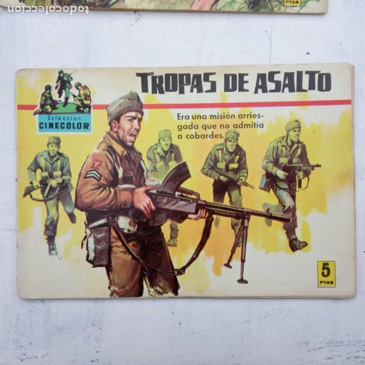 Tebeos: COLECCION CINECOLOR COMBATE COMPLETA - MUY BUEN ESTADO, ver todas las portadas - Foto 48 - 142392302