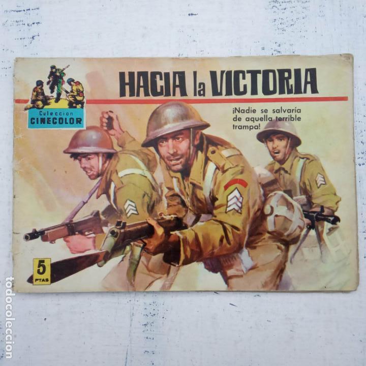 Tebeos: COLECCION CINECOLOR COMBATE COMPLETA - MUY BUEN ESTADO, ver todas las portadas - Foto 50 - 142392302