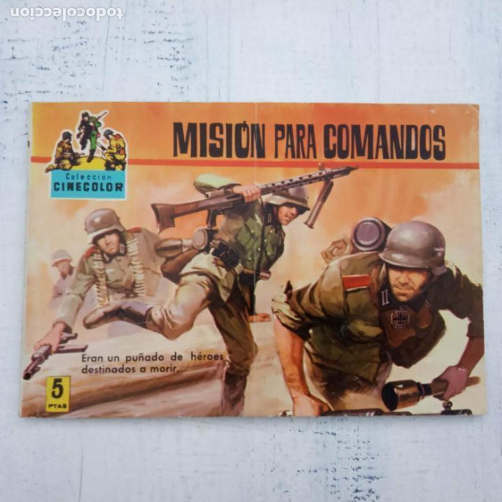 Tebeos: COLECCION CINECOLOR COMBATE COMPLETA - MUY BUEN ESTADO, ver todas las portadas - Foto 51 - 142392302