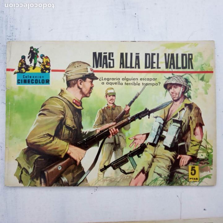 Tebeos: COLECCION CINECOLOR COMBATE COMPLETA - MUY BUEN ESTADO, ver todas las portadas - Foto 52 - 142392302
