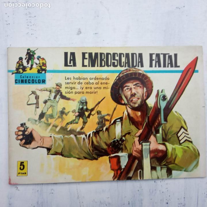 Tebeos: COLECCION CINECOLOR COMBATE COMPLETA - MUY BUEN ESTADO, ver todas las portadas - Foto 53 - 142392302
