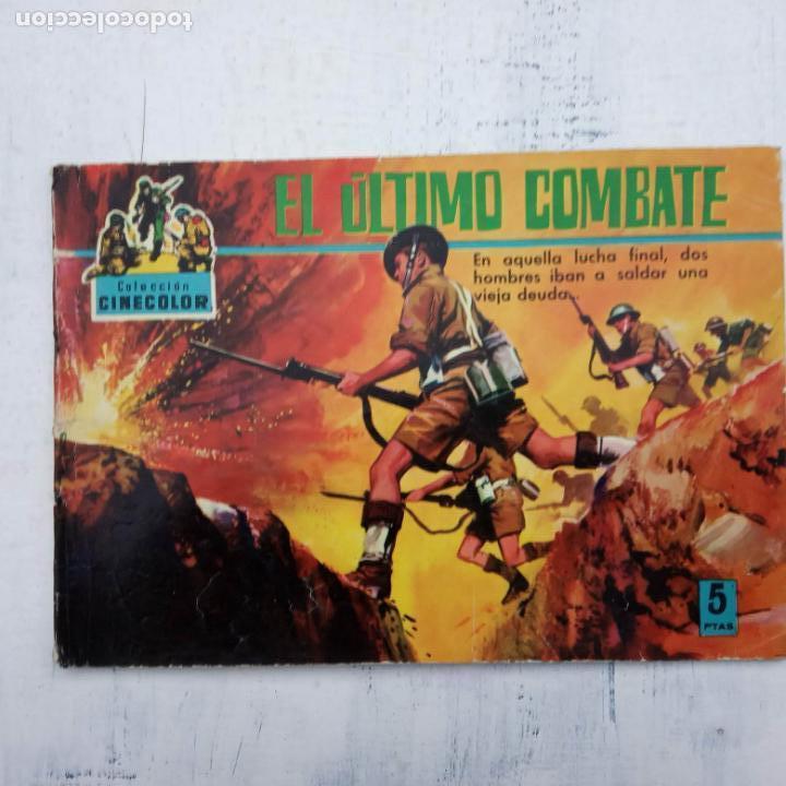 Tebeos: COLECCION CINECOLOR COMBATE COMPLETA - MUY BUEN ESTADO, ver todas las portadas - Foto 55 - 142392302