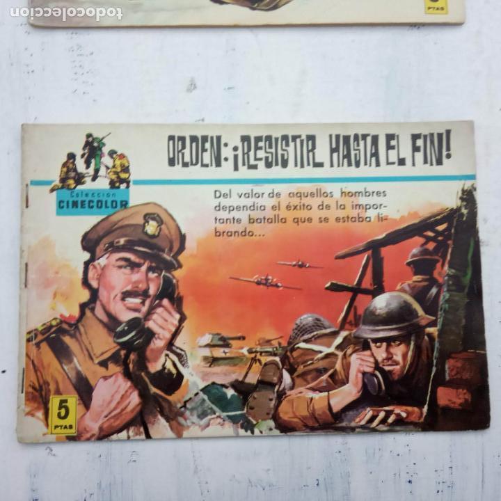 Tebeos: COLECCION CINECOLOR COMBATE COMPLETA - MUY BUEN ESTADO, ver todas las portadas - Foto 59 - 142392302