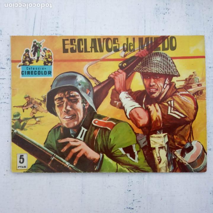 Tebeos: COLECCION CINECOLOR COMBATE COMPLETA - MUY BUEN ESTADO, ver todas las portadas - Foto 61 - 142392302