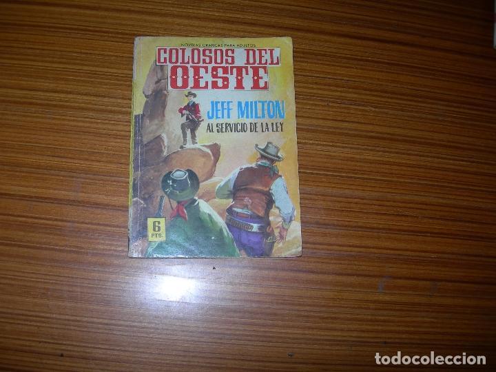 COLOSOS DEL OESTE Nº 37 EDITA FERMA (Tebeos y Comics - Ferma - Colosos de Oeste)