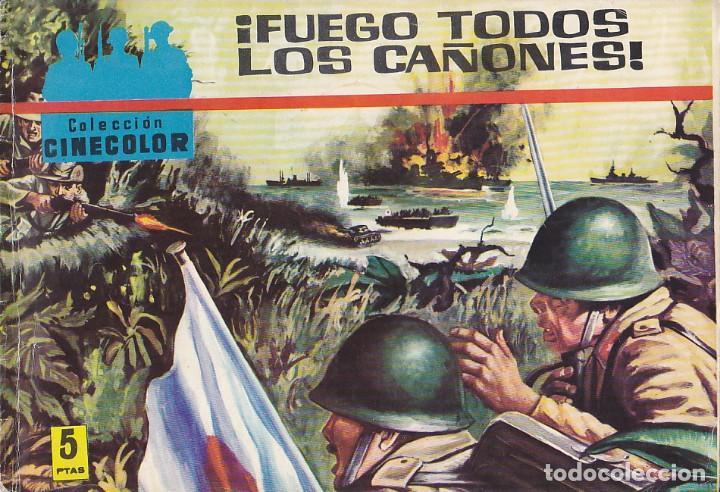 COLECCION COMIC COLECCION CINE COLOR COMBATE Nº 19 (Tebeos y Comics - Ferma - Combate)