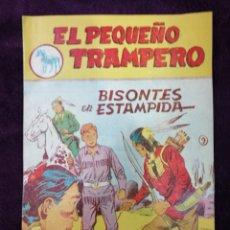Tebeos: EL PEQUEÑO TRAMPERO 9 ORIGINAL FERMA 1957 PRIMERA SERIE. Lote 147242909