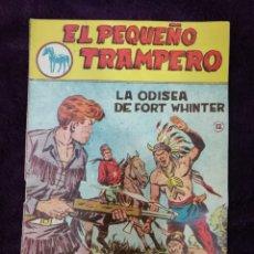 Tebeos: EL PEQUEÑO TRAMPERO 12 ORIGINAL FERMA 1957 PRIMERA SERIE. Lote 147243309
