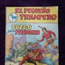 Tebeos: EL PEQUEÑO TRAMPERO 13 ORIGINAL FERMA 1957 PRIMERA SERIE. Lote 147243481