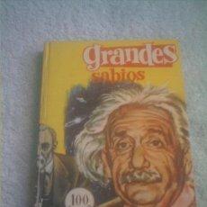 Tebeos: GRANDES SABIOS Nº 14 FERMA - 1963 -155 PAGINAS TEBEO -LIBRO. Lote 148053066