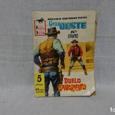 Tebeos: FERMA, GRAN OESTE, DUELO SANGRIENTO, MATT SHANO. Lote 148167294