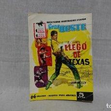Tebeos: FERMA, GRAN OESTE, LLEGO DE TEXAS, JIM KELLY. Lote 148167454