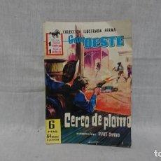Tebeos: FERMA, GRAN OESTE, CERCO DE PLOMO, MATT SHANO . Lote 148168850