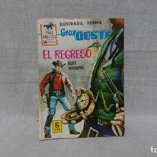 Tebeos: FERMA, GRAN OESTE, EL REGRESO, BURT WINNING. Lote 148169750