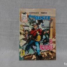 Tebeos: FERMA, GRAN OESTE, EL INSACIABLE, RICKY DICKINSON. Lote 148172242